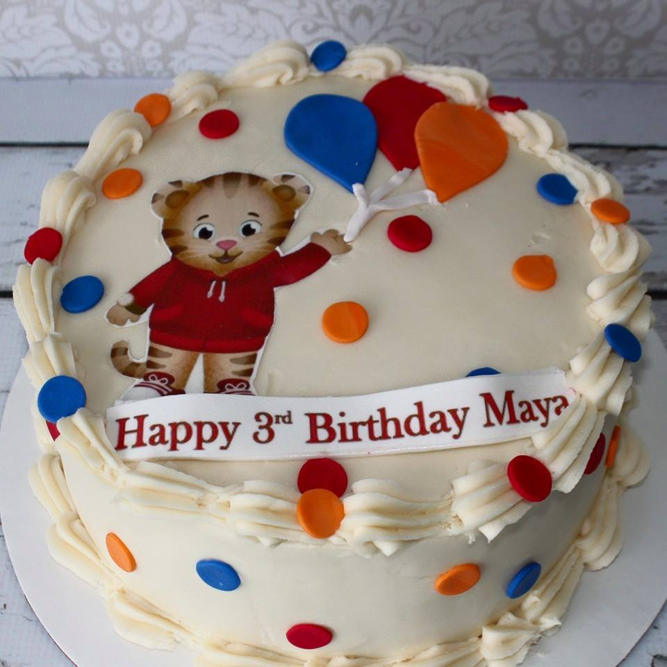 daniel tiger cake daniel tiger party cake sydneys sweets 3305
